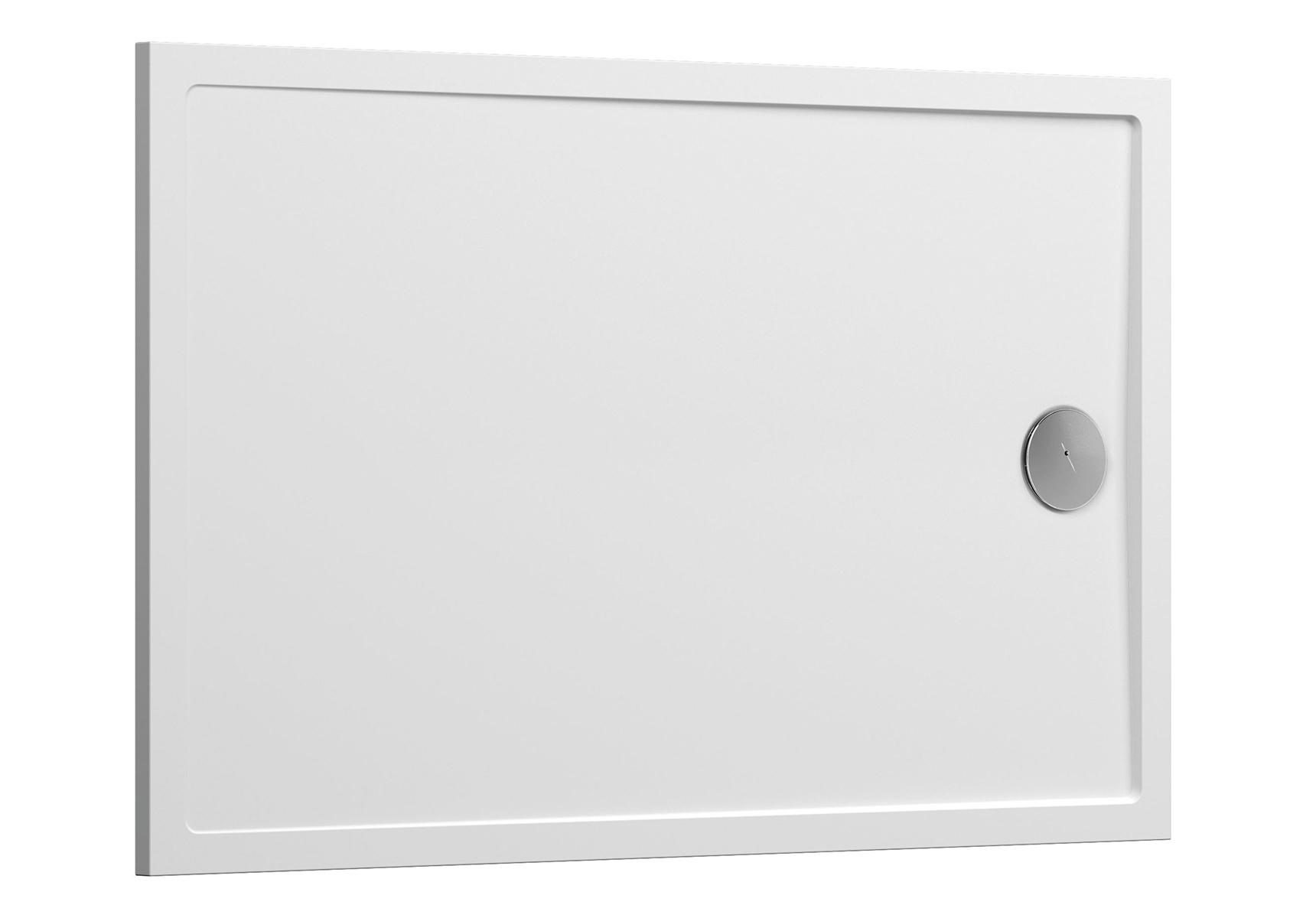 Aruna receveur ultra plat, 100  x  80 cm, en pierre m³ solide