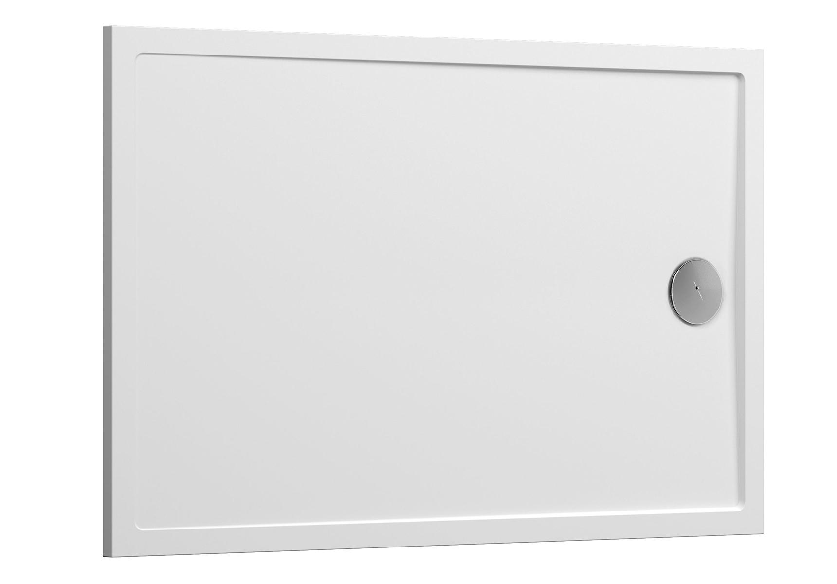 Aruna receveur ultra plat, 120  x  80 cm, en pierre m³ solide
