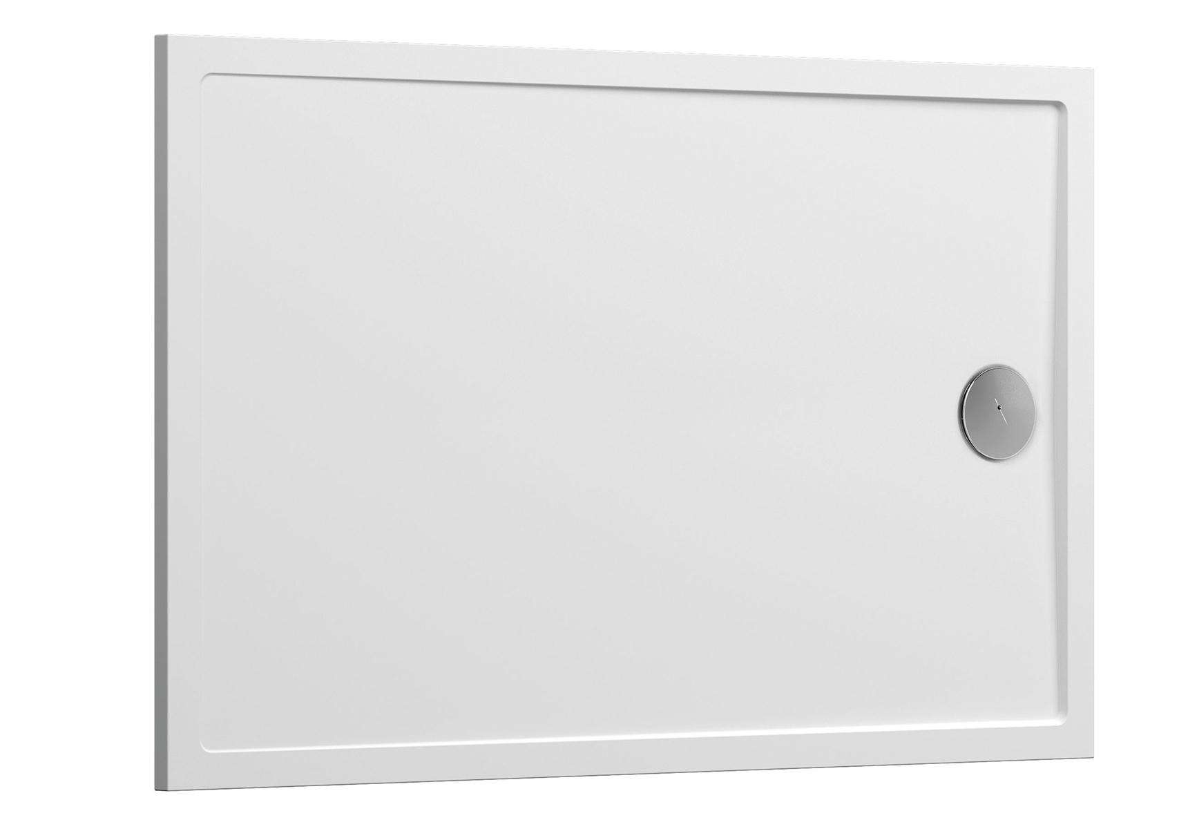 Aruna receveur ultra plat, 120  x  90 cm, en pierre m³ solide, 120  x  90 cm