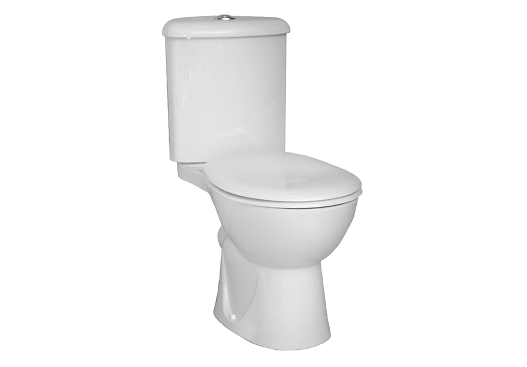 Arkitekt Pack WC, 67 cm, S / H, abattant Thermoplastique