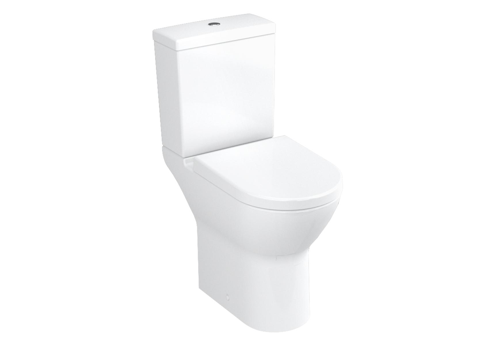 S50 Pack WC à poser PMR, 65 cm, avec abattant Duroplast