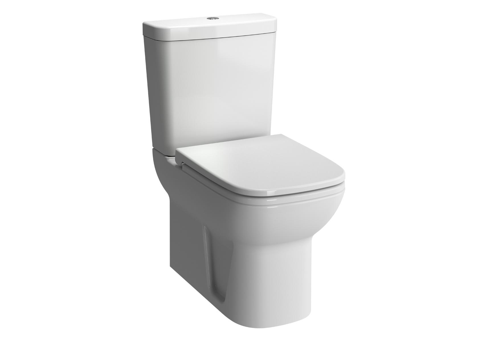 S20 Pack WC à poser, 61,5 cm, sortie universel, abattant Duroplast avec fermeture douce