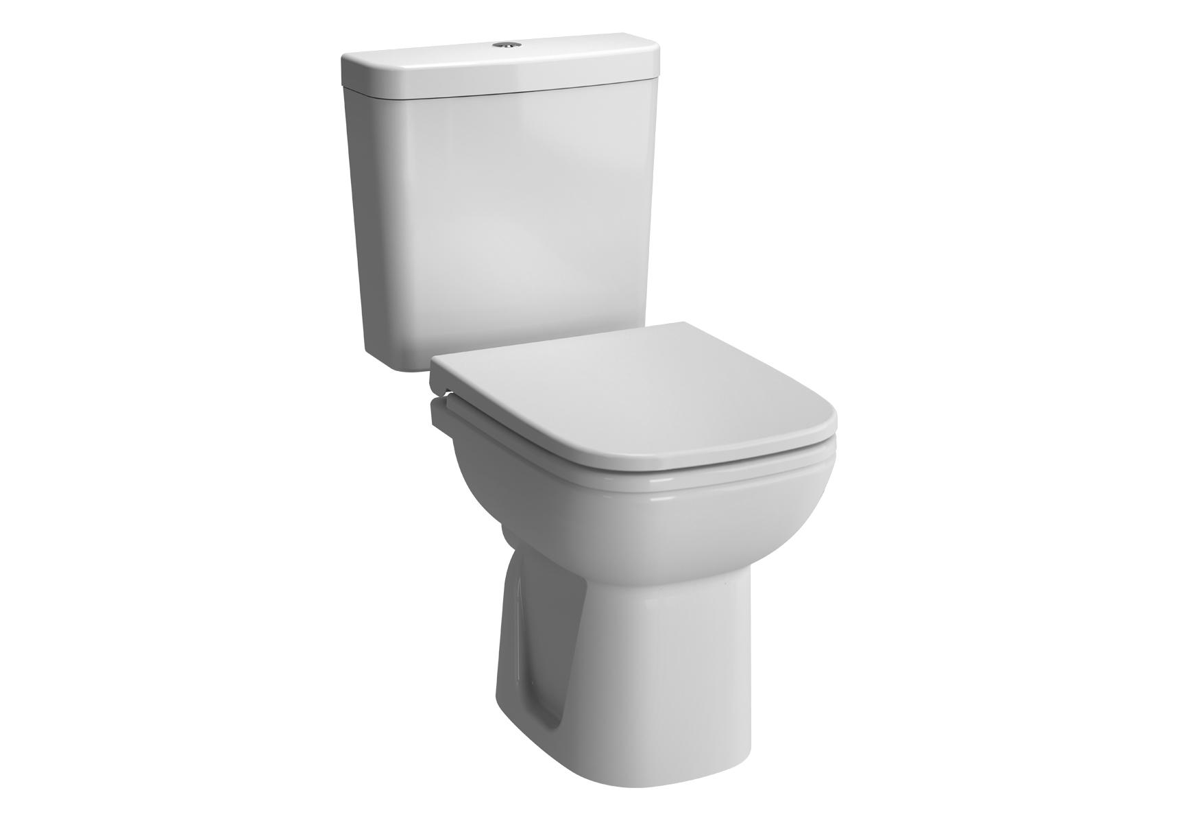 S20 Pack WC à poser, 64 cm, S / H, abattant Duroplast