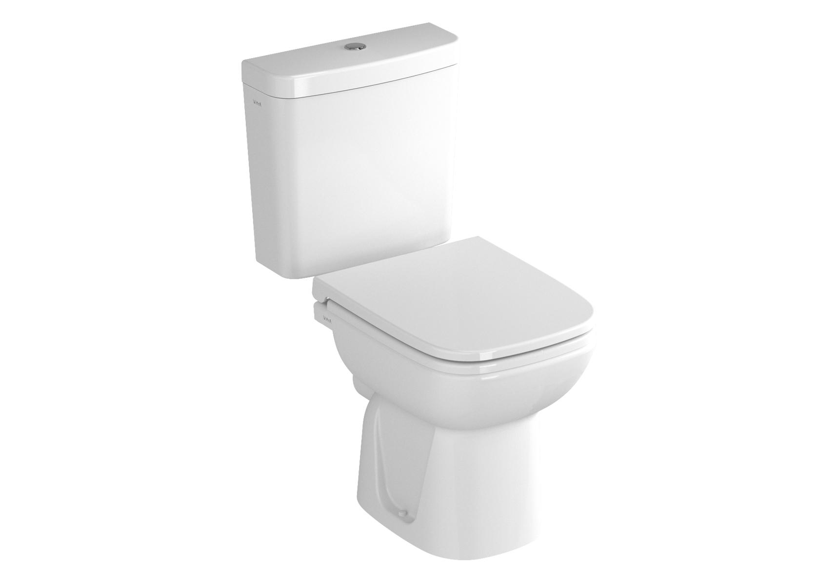 S20 Pack WC à poser, 64 cm, S / H, abattant Duroplast avec fermeture douce