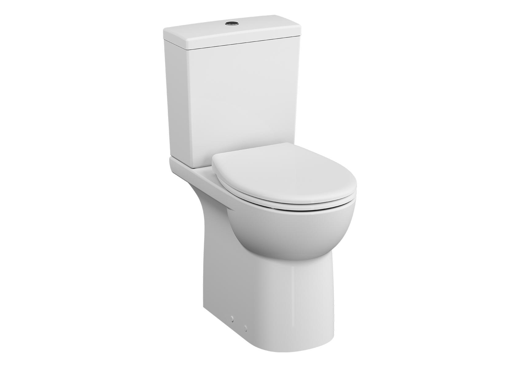 Conforma Pack WC à poser sans bride, 65 cm, abattant Thermoplastique