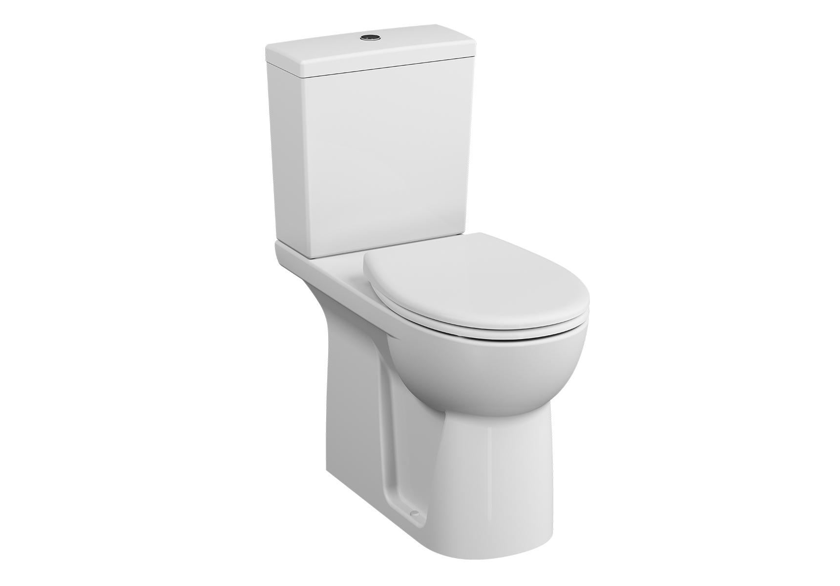 Conforma Pack WC à poser PMR, 70 cm, abattant Thermodur