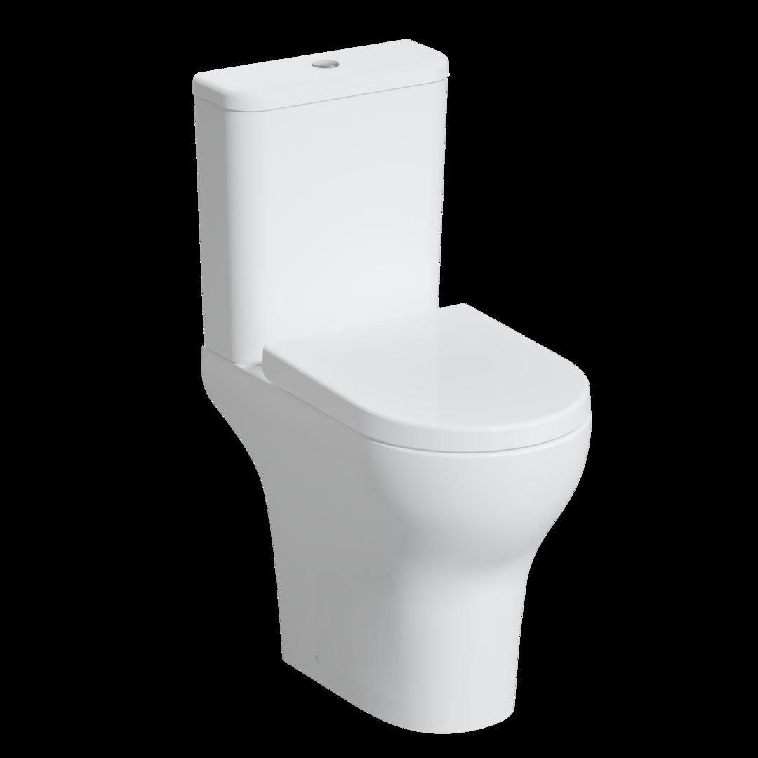 Zentrum Pack WC à poser open back PMR, sans bride, 62 cm