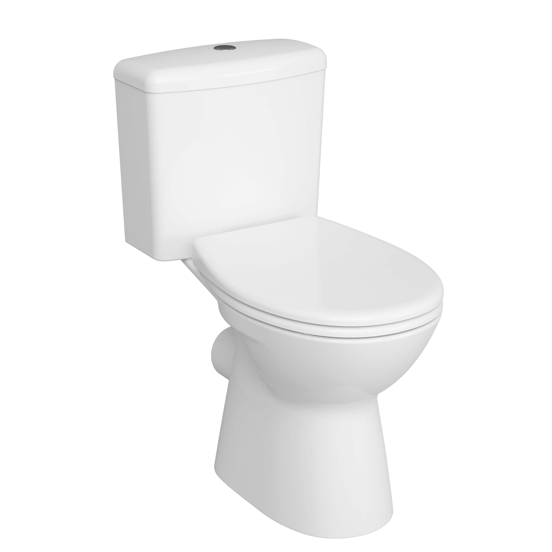Normus Lift, Pack WC caréné, S / H, abattant Duroplast, mécanisme de fermeture douce