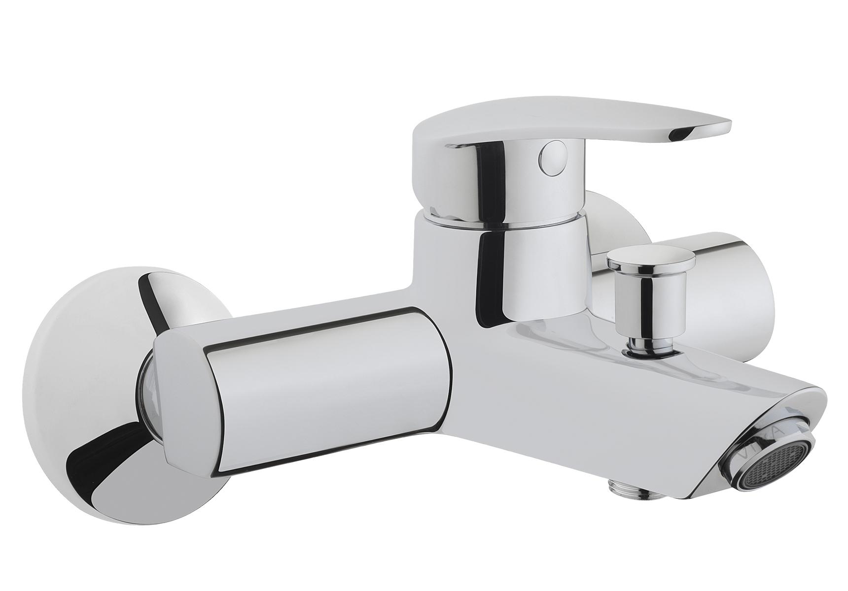Dynamic S mitigeur MC de remplissage baignoire / douche, cartouche C2 BlueStep, écoulement douche ½