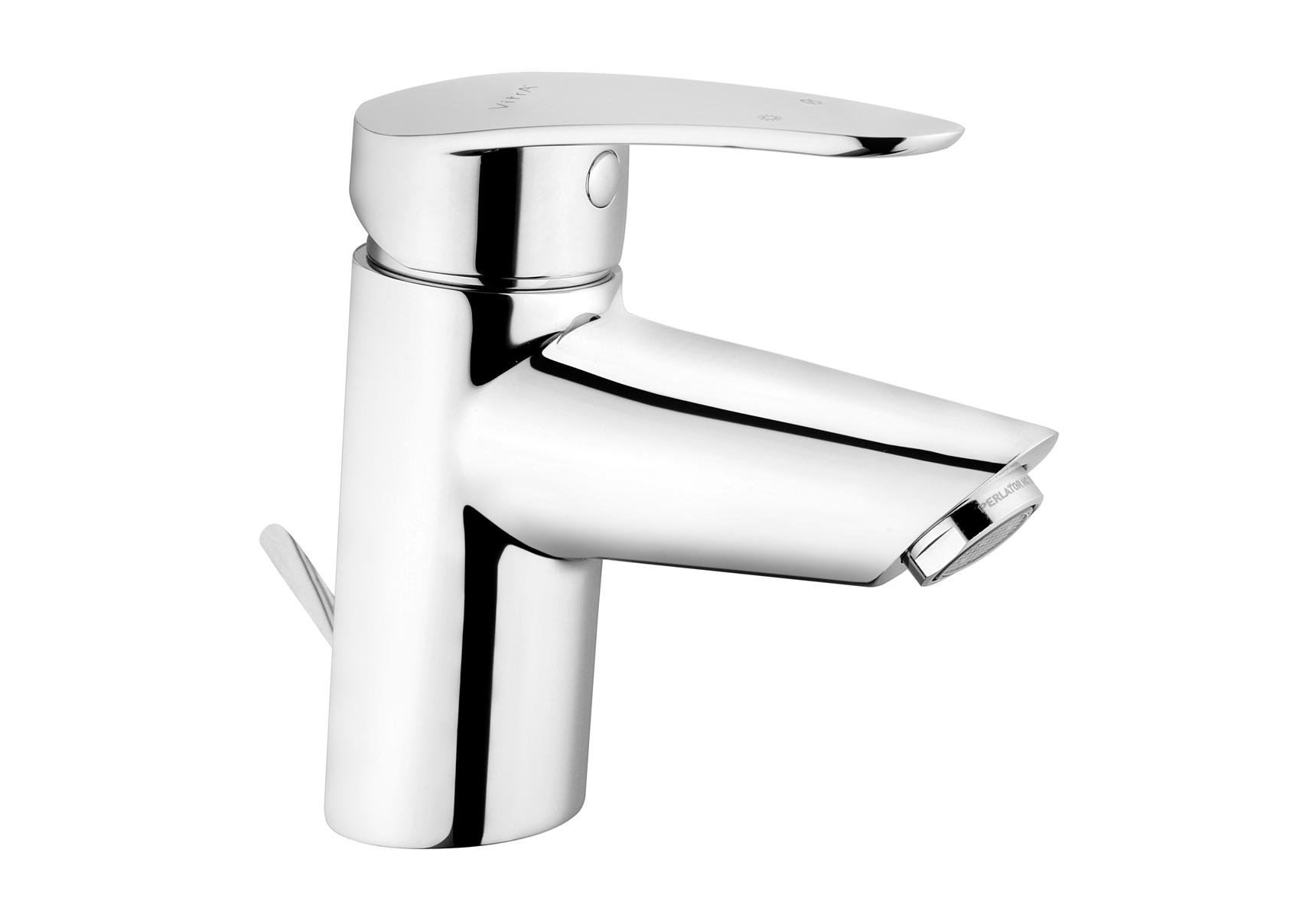 """Dynamic S mitigeur lavabo MC avec cartouche C3 BlueEco & BlueStep, garniture de vidage G 1 1/4"""""""