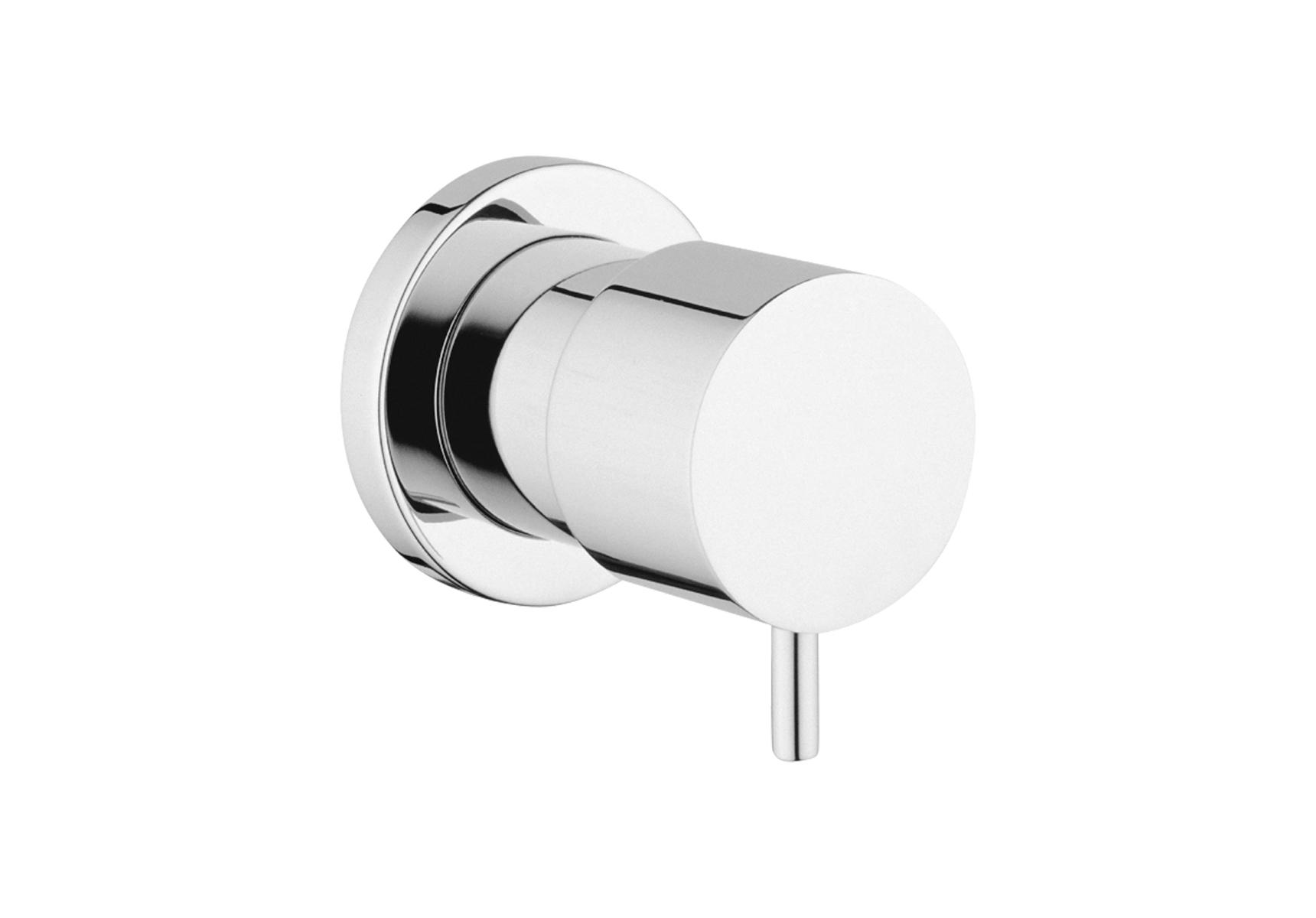 Minimax S robinet d'arrêt, montage encastré
