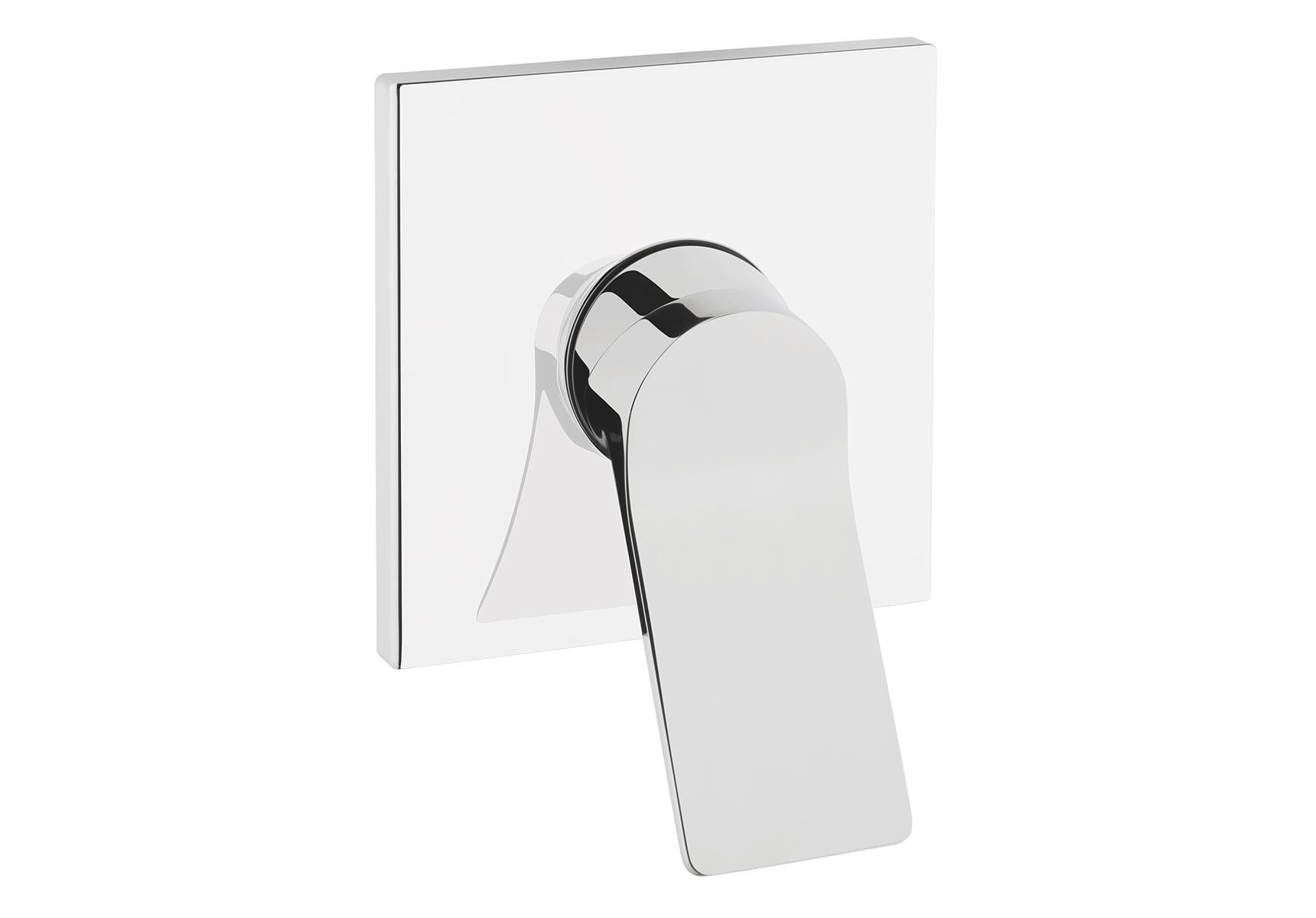 Memoria mitigeur douche à encastrer, façade à encastrer