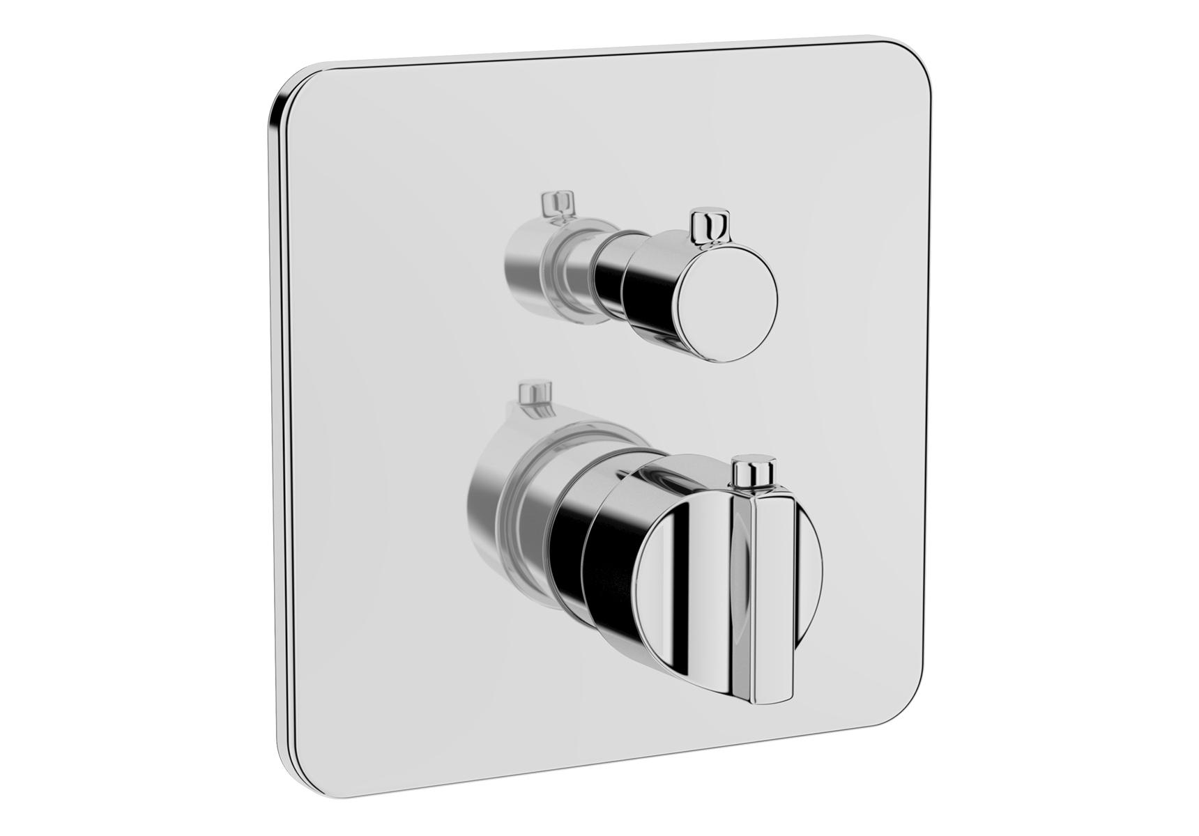 Suit L / U mitigeur thermostatique douche à encastrer (pour V-Box)