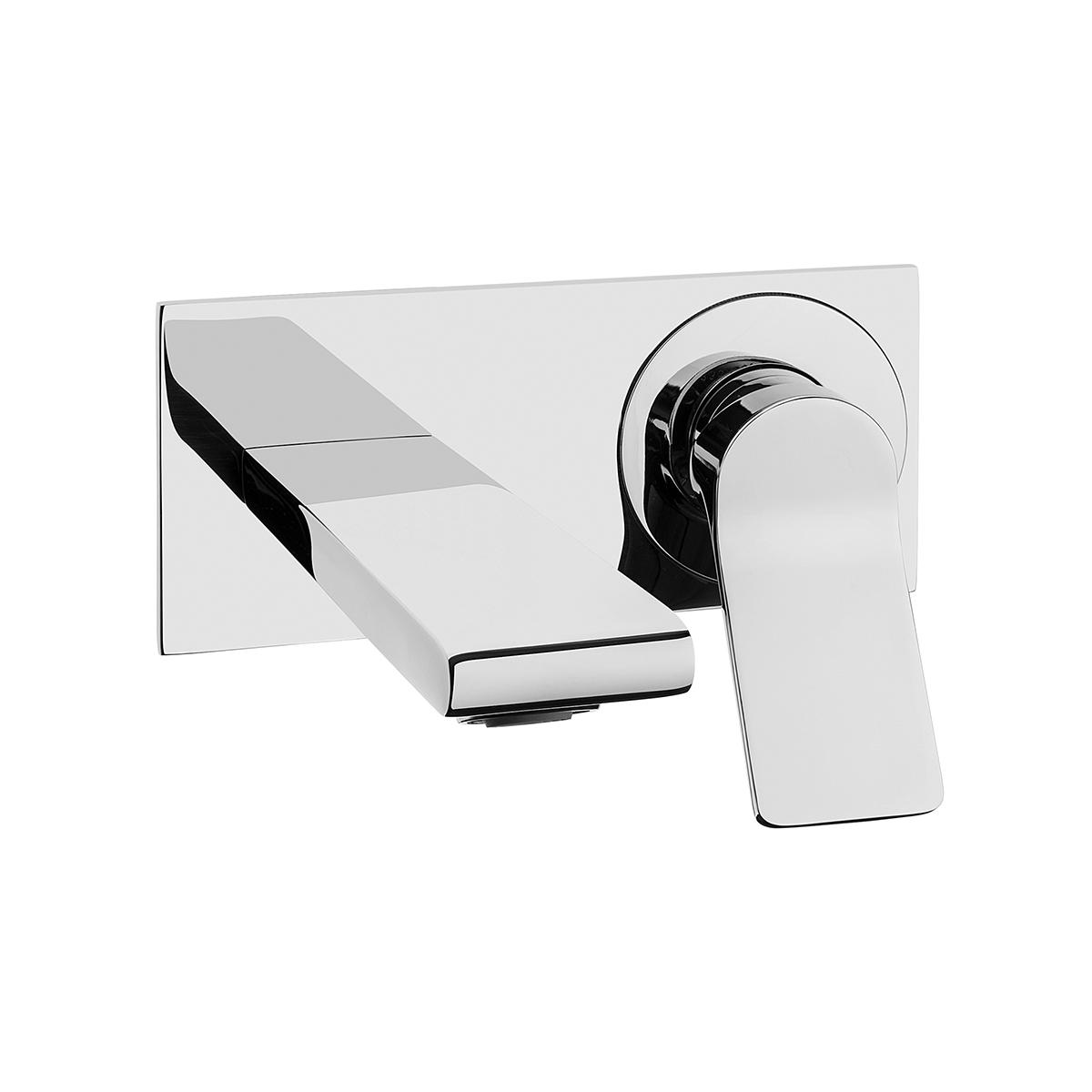 Memoria mitigeur lavabo à encastrer, façade à encastrer