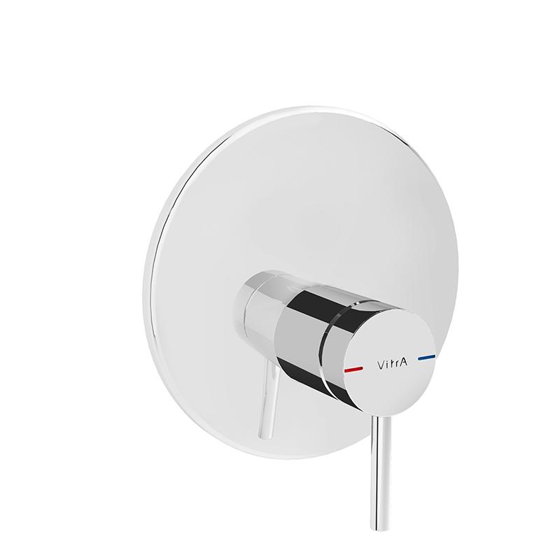 Origin mitigeur thermostatique douche à encastrer (pour V-Box), ronde, surface chromée