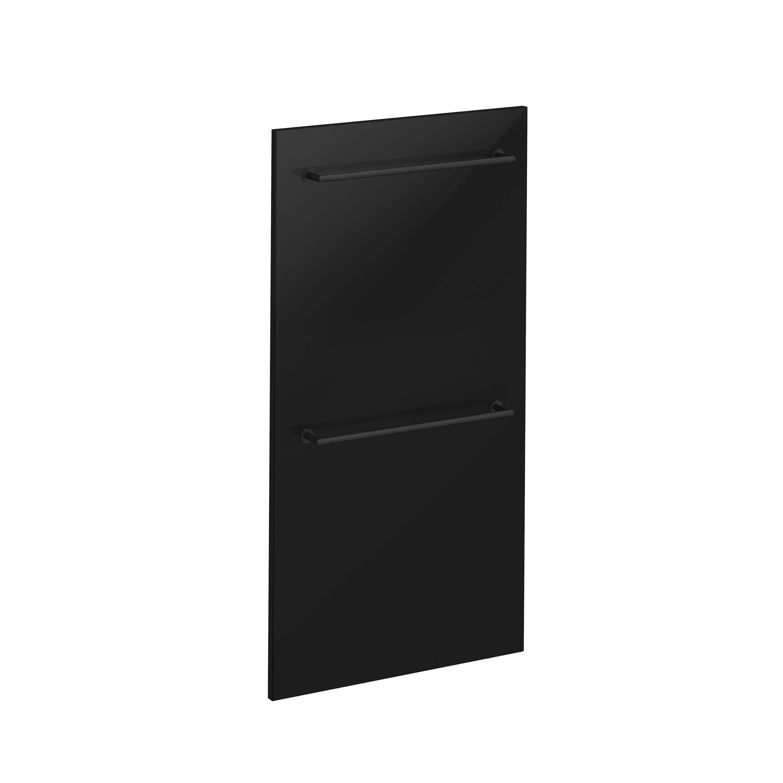 Voyage Sèche-serviettes, 220 V, noir / noir