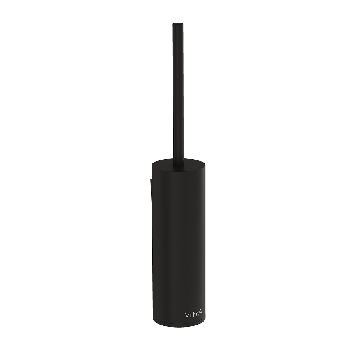 Origin WC-Bürstengarnitur Wandmontage, Ø 70 mm, Schwarz Matt