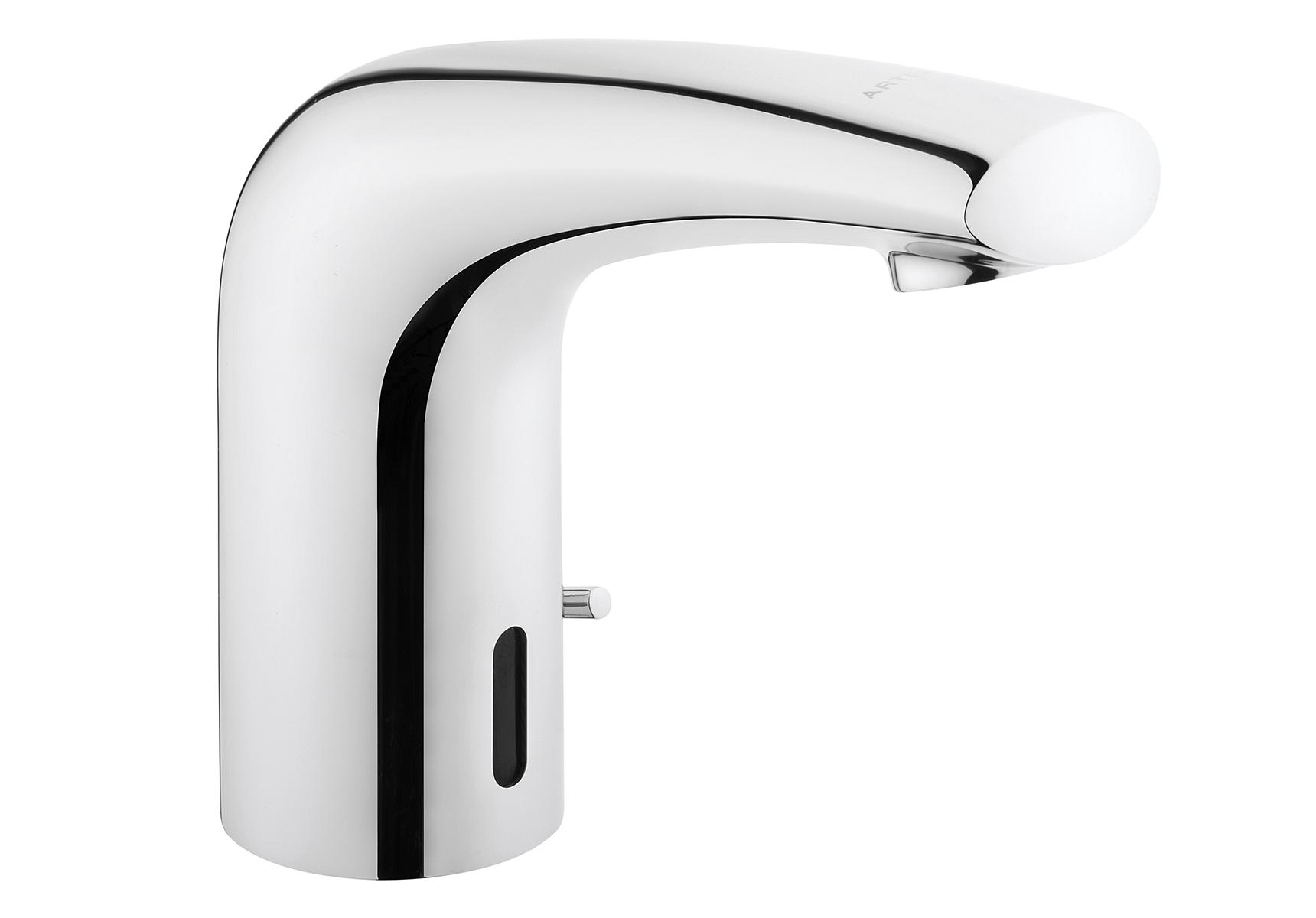 Wing mitigeur lavabo avec capteur sensoriel, version Powerbox, eau froid uniquement