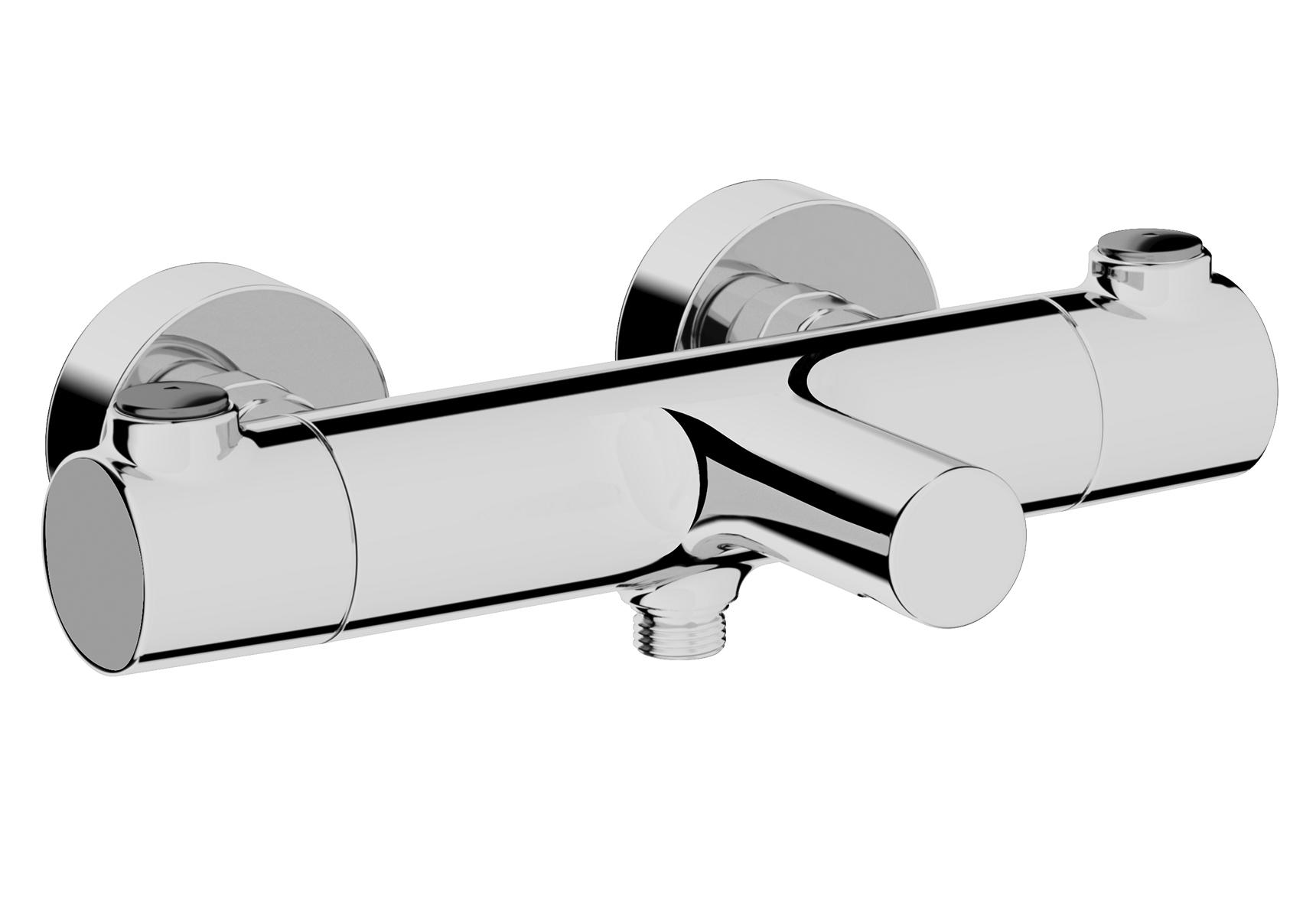 """AquaHeat RS3 mitigeur thermostatique bain / douche, chromé, écoulement douche 1/2"""""""