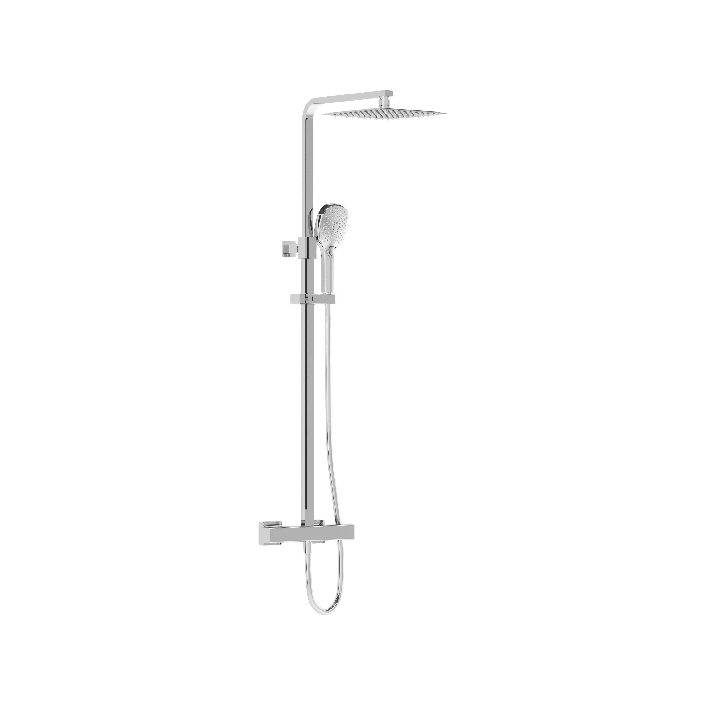 Aquaheat Bliss S 230 colonne de douche, carré, chromé