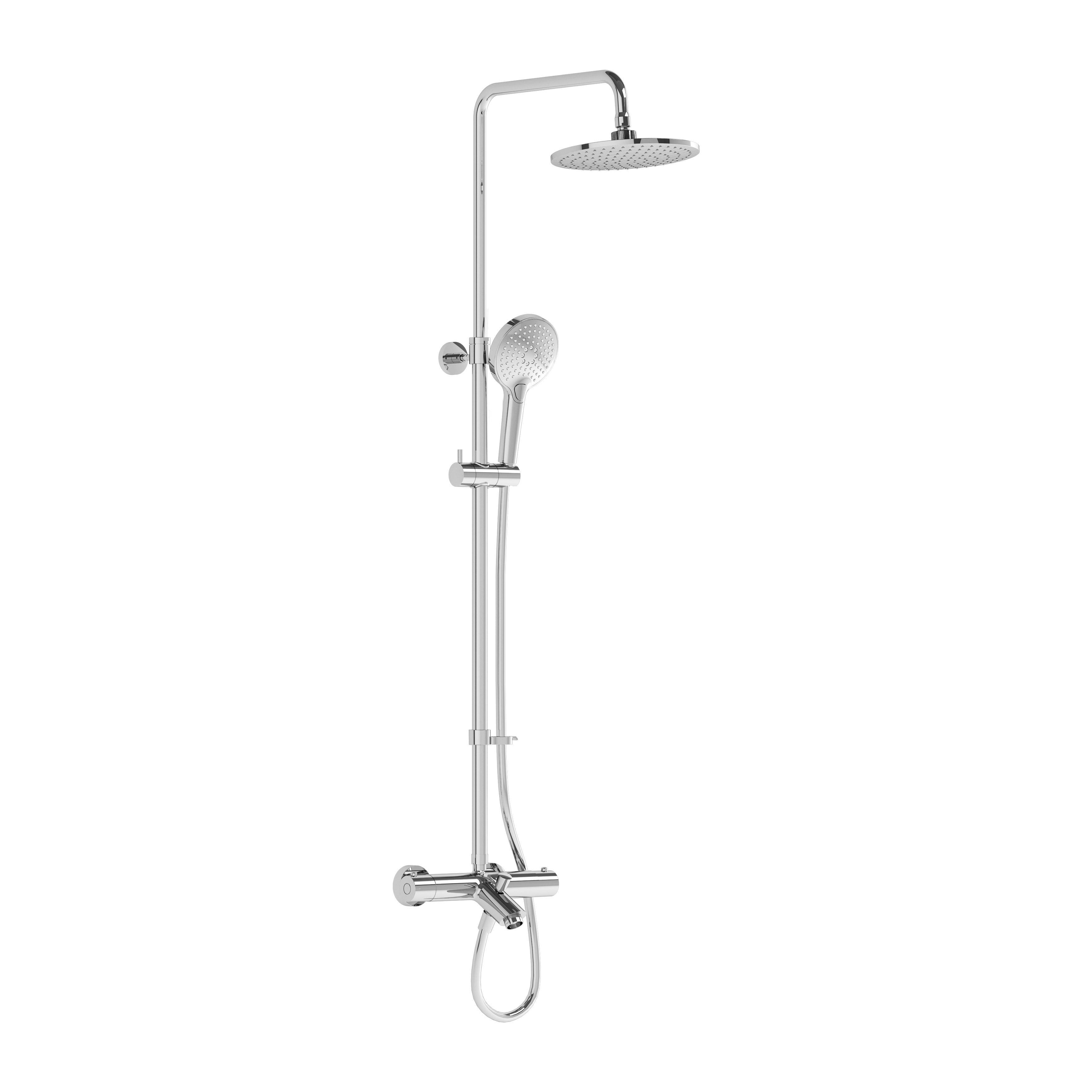 Aquaheat Joy 220 B, colonne avec mitigeur thermostatique bain / douche