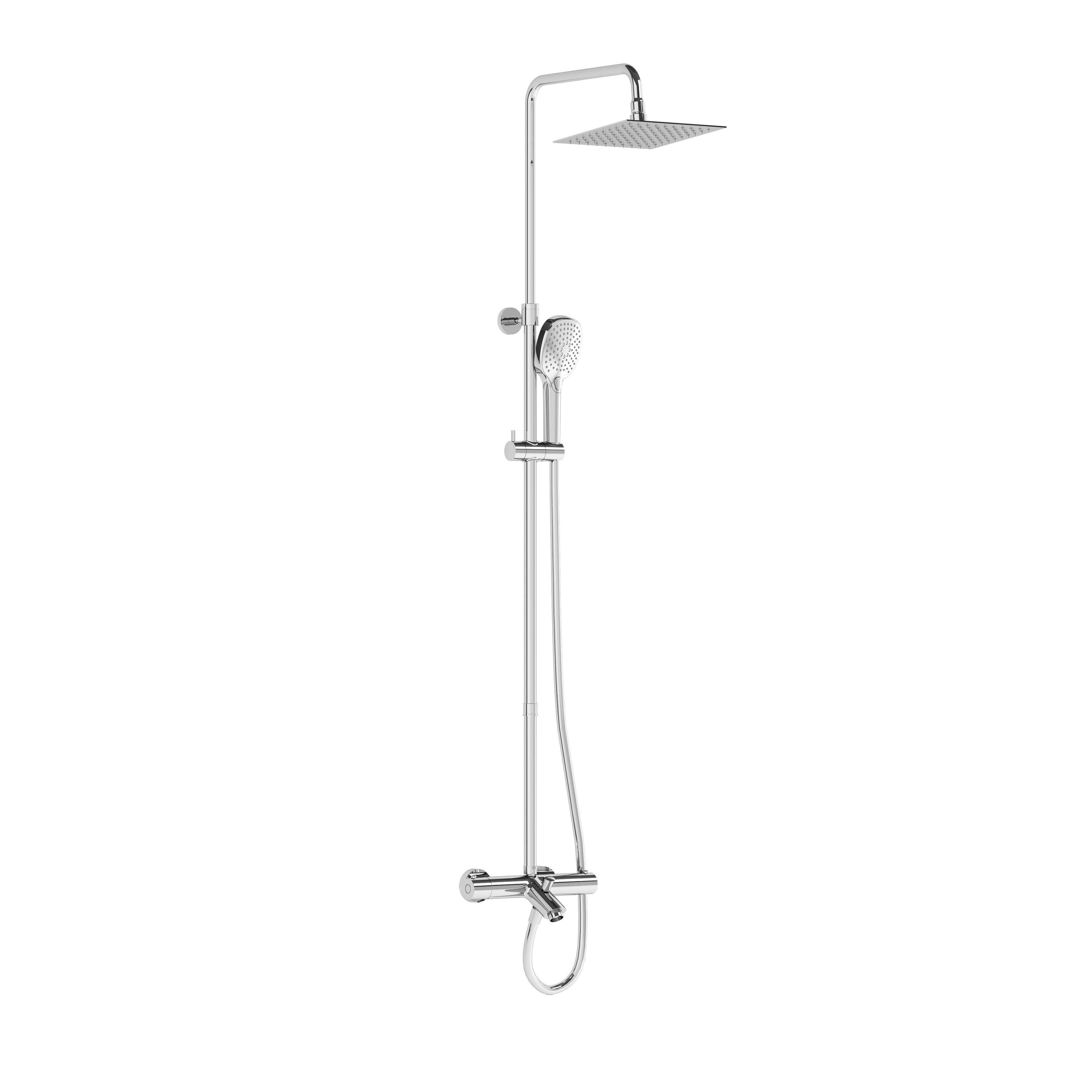Aquaheat Bliss S 230 B, colonne avec mitigeur thermostatique bain / douche
